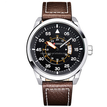 Low MOQ Curren Watch Western Wrist Watches for Men