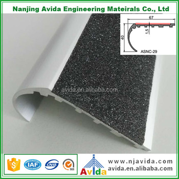 Beau Rounded Stair Treads Curved Aluminium Stair Nosing For Canada   Buy Curved  Aluminium Stair Nosing Product On Alibaba.com