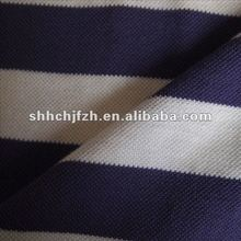 100% Cotton Drop Needle Pique Knitting Textile Fabric