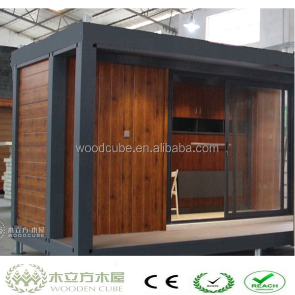 WPC house design of the containers