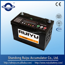Bese price car battery N70MF 12V70AH automotive battery manufacturer