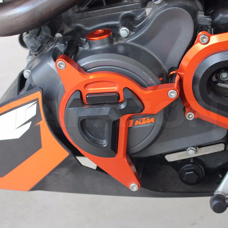 Cnc Aluminum Engine Guard Cover Slider Protector For Duke 200 - Buy  Motorcyle Engine Guard Cover,Ktm Engine Slider,Ktm Duke Engine Protector  Product