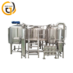 Beer Brewing Kettle Stainless Steel Brewery Equipment