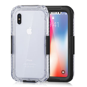 best cheap 4af19 6702a Silicone Pc Dust-proof Ip68 Waterproof Phone Case For Iphone X,For Iphone X  Case Waterproof Phone Case - Buy Waterproof Phone Case,Waterproof Case For  ...
