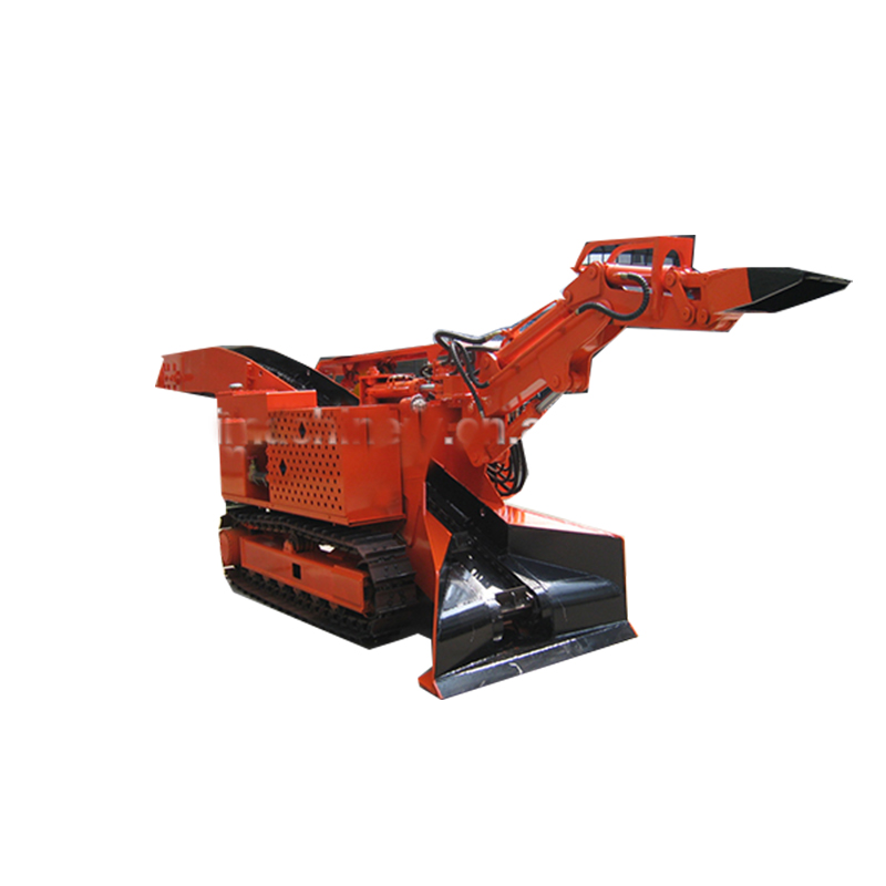 Good quality Chinese mini crawler backhoe loader