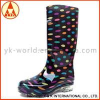 Lady' PVC Rain boots, women rain boots