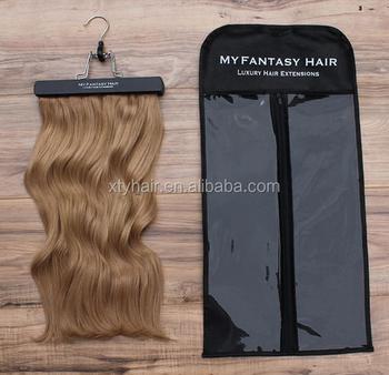 Hair Extension Packaging Sutra Dan Satin Tas Untuk Ekstensi Rambut Kemasan