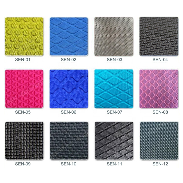 2020 New Arrival SBR anti-slip neoprene rubber sheet for mouse pad