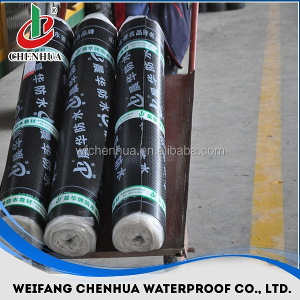 building construction material waterproof bitumen rolled roofing sbs made in China