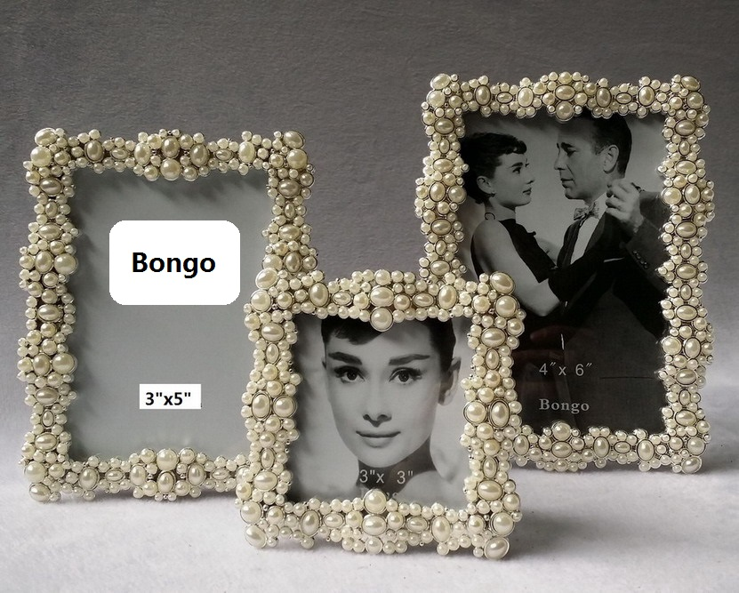Rhinestone Pearl Picture Frames - Buy Rhinestone Pearl Picture ...