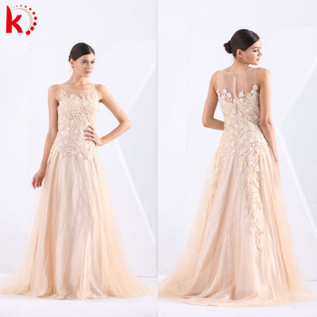 Distinguished Tulle Sleeveless Evening Gowns With Shoulders Puffy ...