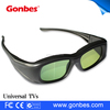 Universal IR and BT cheap 3d active shutter glasses for TV