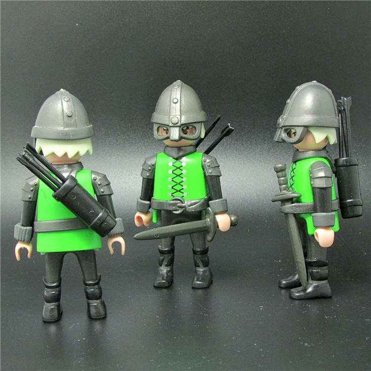 1PC Genuine Germany Playmobil dolls accessory weapon kids toys boys gifts NO005