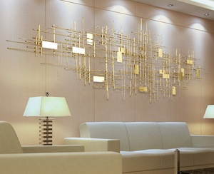 New Design Luxury Metal Wall Art Decoration