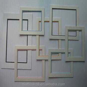 Uncut And Pre-cut Multi Opening Matboard\\mount Board\\mats ...