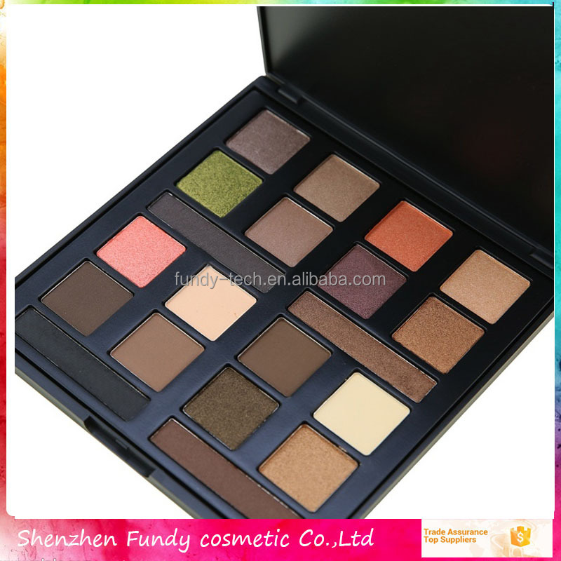 Permanent makeup factory price 20 color bright eyeshadow cosmetics wholesale made in china private label