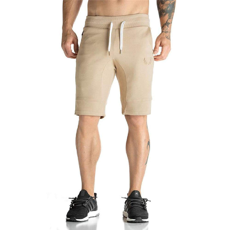 MNXNEZ Men Shorts Bodybuilding Fitness Gyms Workout Jogger Shorts Camouflage Shorts