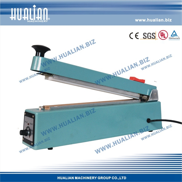 HUALIAN 2017 Hand Impulse Sealer With Cutter