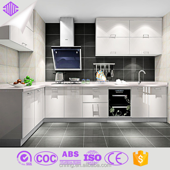 2016 New Aluminium Design Kitchen Cabinets Factory Direct Sale