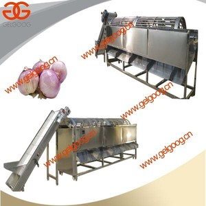 China Made Onion Washing and Sorting System|Onion Use Cleaning and Grading Machine