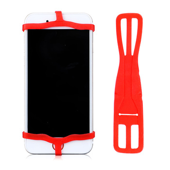 Newest Gadget Phone Bike Holder Silicone Cell Phone Holder For Bicycle Handlebar