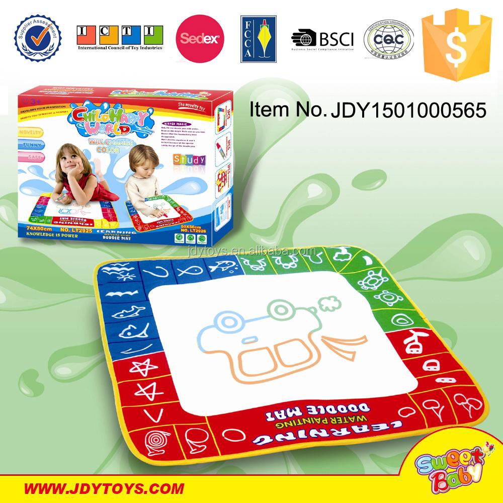 Su Renkli Kalem Ve Eva Aracı Eğitim çocuk Oyun Mat Diy Boyama Oyun