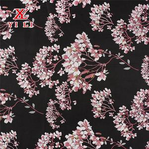 Modern design fancy colorful beautiful polyester dress fabric