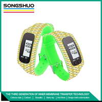 wrist watch pedometer for kids pedometer wristbands smart bracelet Fashionable design free sample