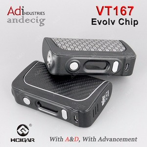 2016 e cigarette wholesale 100% original HCigar VT167 box mod with Evolv DNA20 chip