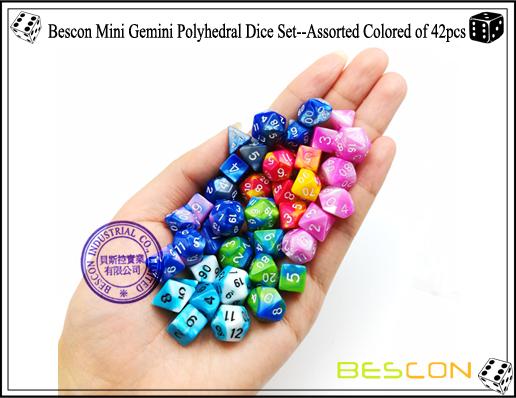 Bescon 10mm mini conjunto de dados de