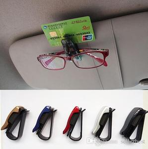 DC-1301 TYPE R TYPER car styling accessories Sun Visor Sunglasses Eye Glasses Card Pen Holder Clip Stand for Car Auto Vehicle To