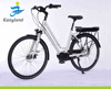 700C Mid Motor Electric Bicycle EL-DB7008L With Lithium Battery