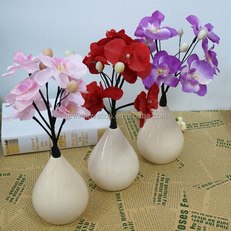 35CM 6L LED christmas flower porcelain chinaware set
