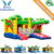 Factory Wholesale commercial multiplay crocodile bounce house , kids inflatable jumping house with slide
