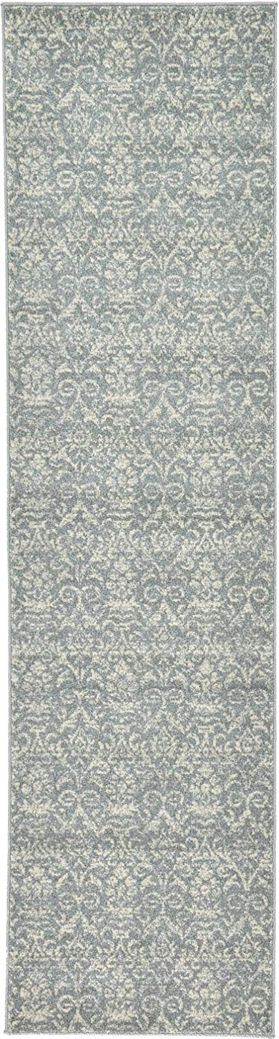 A2Z Rug Majesty Collection 2' 7'' x 10'-Feet Runner Area Rugs, Gray