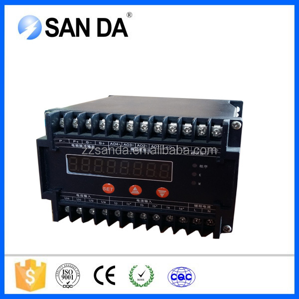 High Quality Three Phase Active&Reactive Current transducer