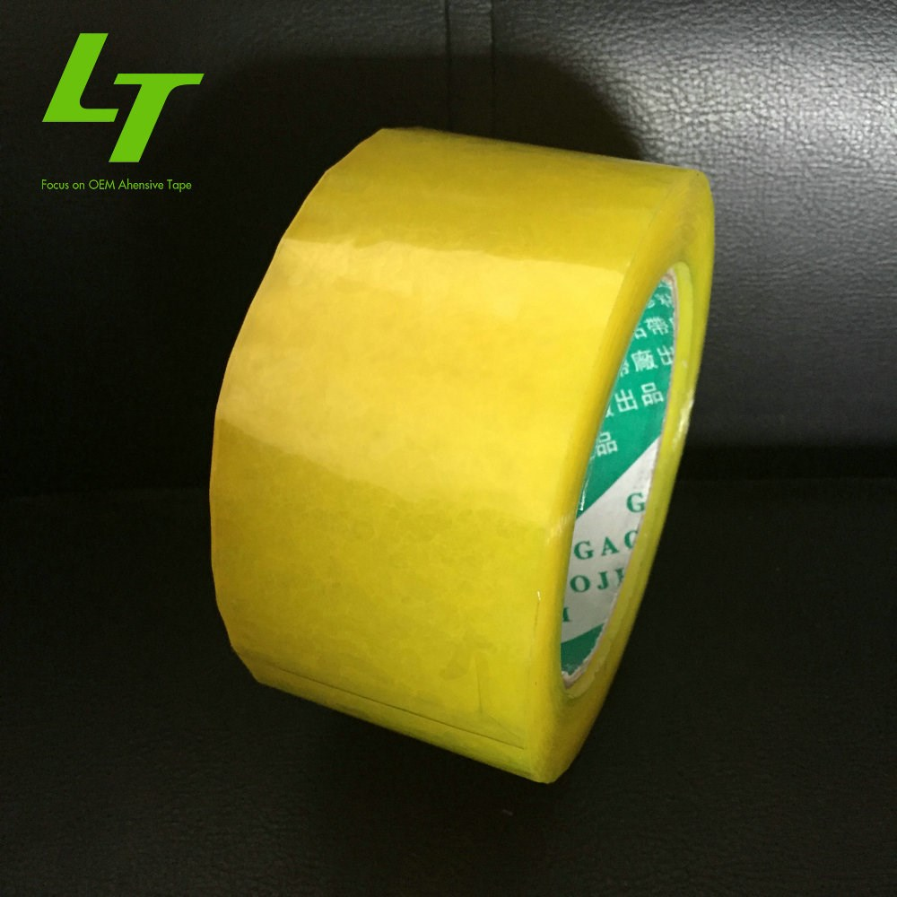 transparent bopp backing pressure-sensitive jumbo roll tape gun
