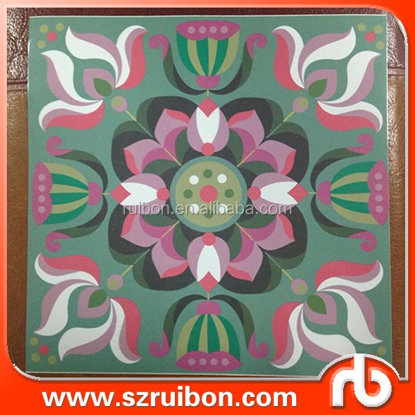 Wall Tile Sticker Vinyl Wall Decals Waterproof Removable