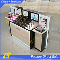 Cosmetic Store Display Furniture Counter for Mall Cosmetic Kiosk