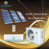 90% ACDC power hybrid control UAE 9000btu 12000btu solar power home air conditioning units
