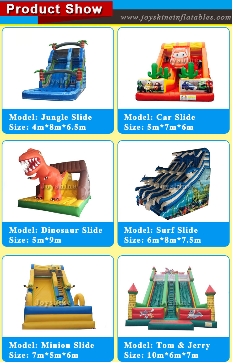 New Children's inflatable outdoor slide  Jumping Castle Inflatable for hot selling