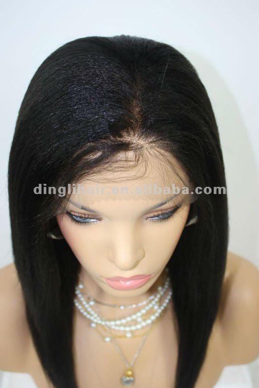 Perruque naturelle pour femme noire - ezona