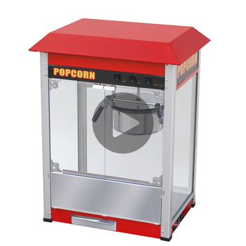 Commercial Automatic Popcorn Making Machine/Popcorn Snack Machine Maker