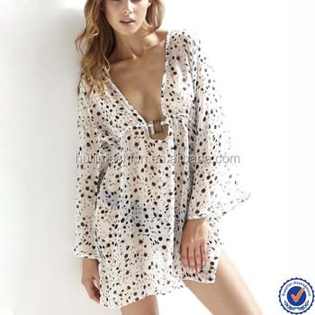 2a24be467c China Clothes Wholesale Women V-neck Beach Kaftan Dress, View beach ...