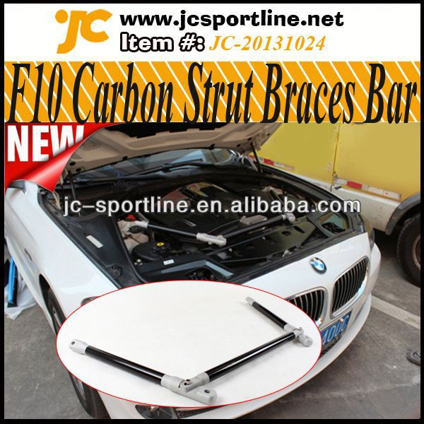 Auto Tunning Carbon suspension Strut Braces Engine Room Balance Bar for BMW F10 F10 Engine Balance Bar