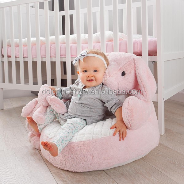 Low moq soft stuffed plush baby animal kids sofa chair for Personalized kids soft chairs