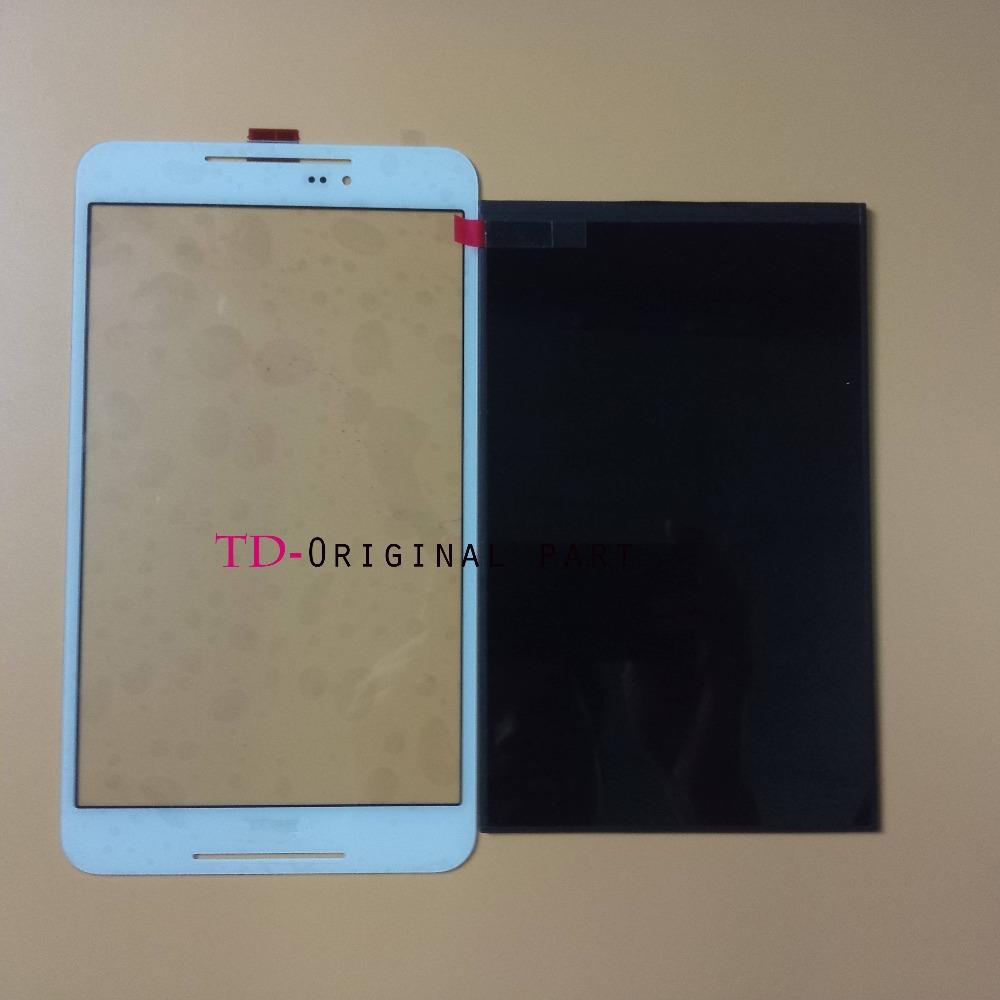 Для Asus Fonepad 8 FE380 FE380CG FE380CXG K016 Tablet PC Touch Screen Digitizer Стекло + ЖК-Дисплей Части Бесплатные Инструменты, Белый