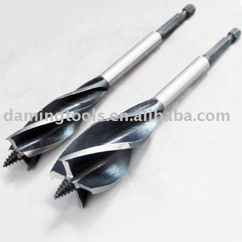 auger bit. four flute auger bits ( quad ) bit