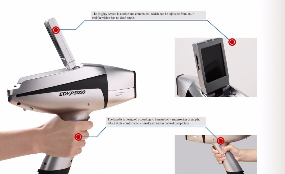 Hand Held Gold Tester : Handheld xrf analyzer price two years warranty ce fcc rohs