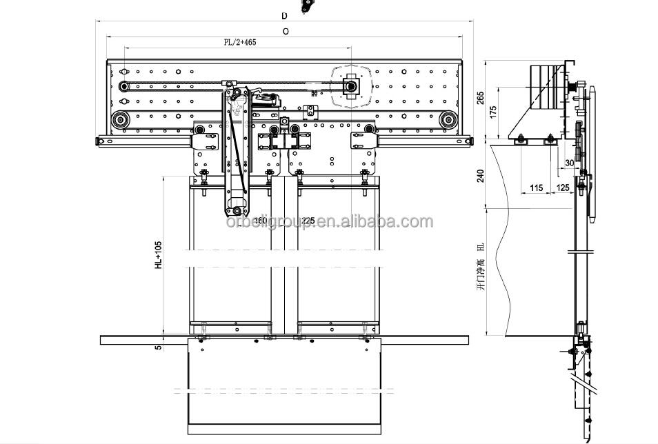 Elevator Cabin Door Operator,Car Door Opening System,Automatic ...